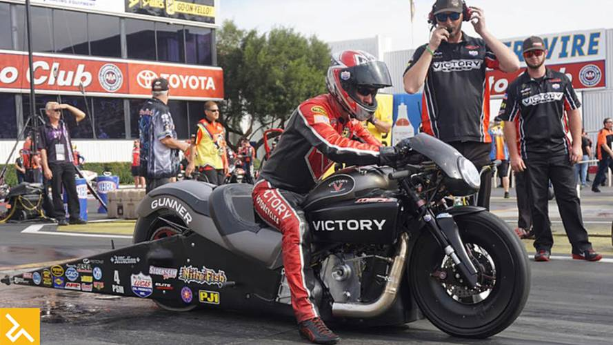 Smith Scores First NHRA Win for Victory