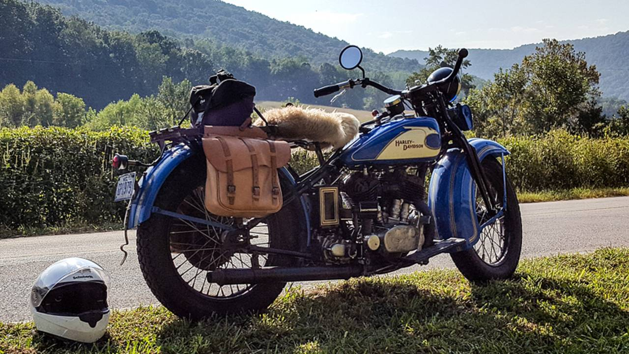 Tennessee, a '33 Harley, and Me