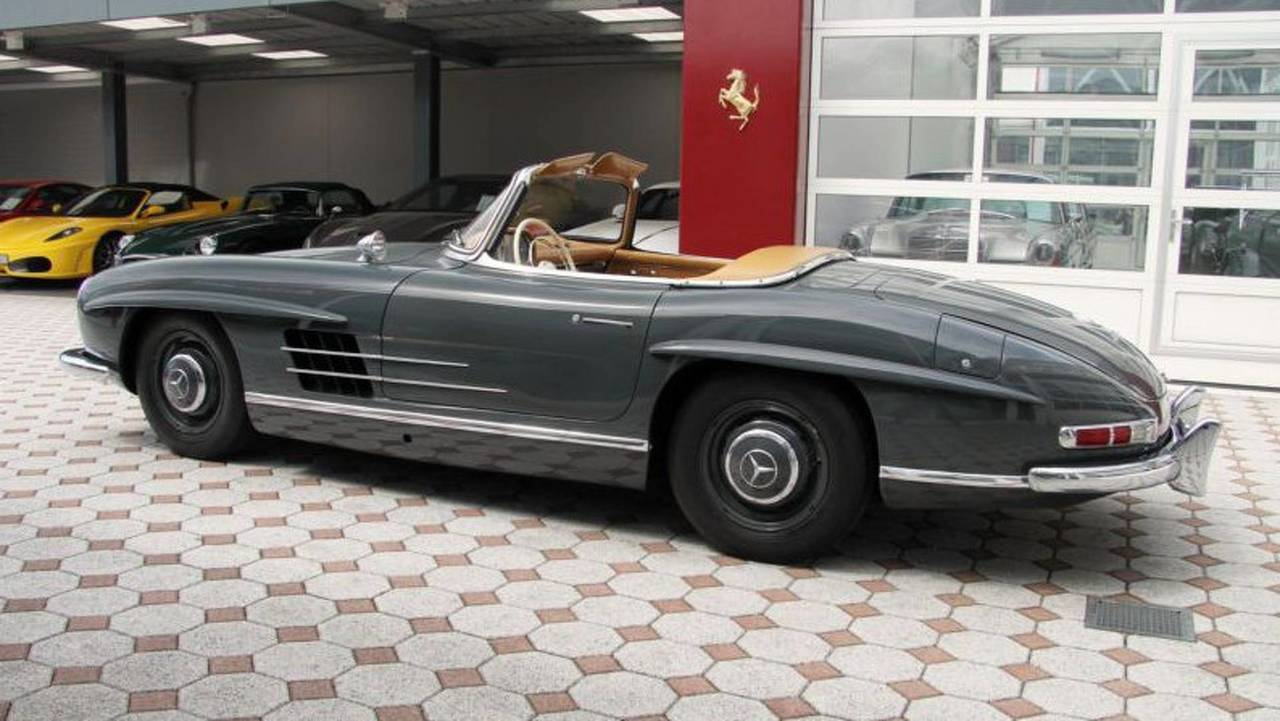 1960 Mercedes-Benz 300 SL Roadster - $1.17 million
