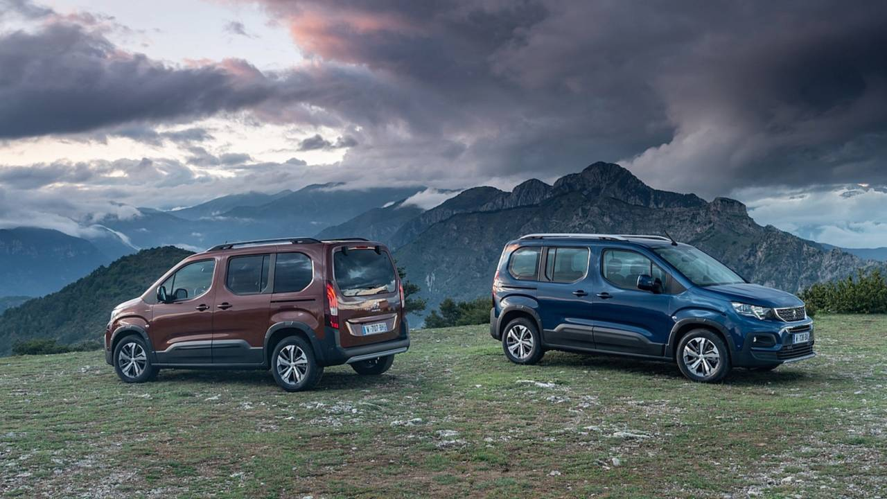Peugeot Rifter 2018 imágenes oficiales