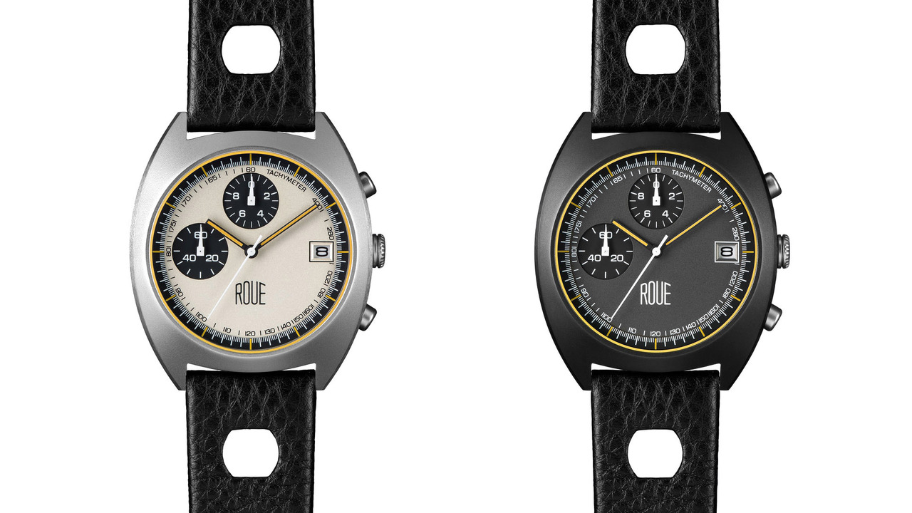 Retro Watch For The Track