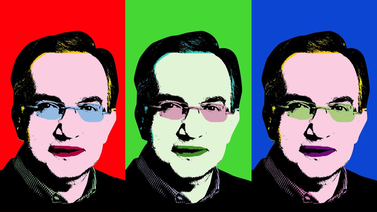 Sergio Marchionne, Warhol style
