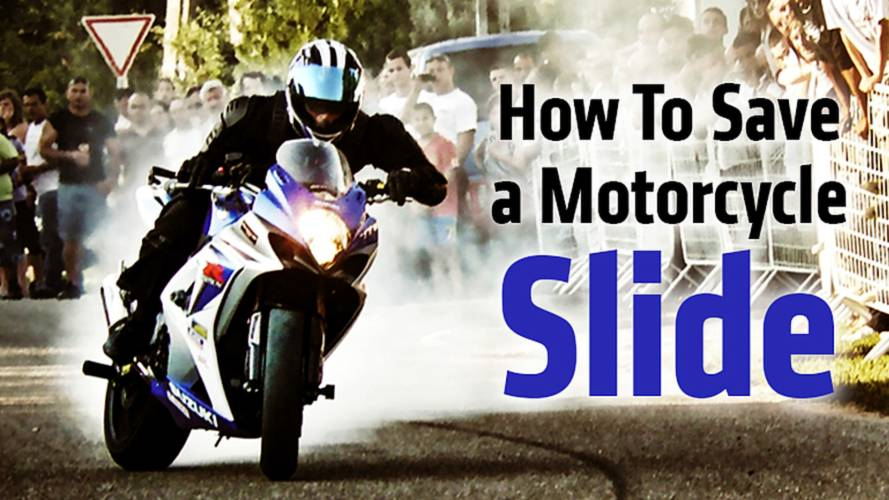 How To Save A Motorcycle Slide
