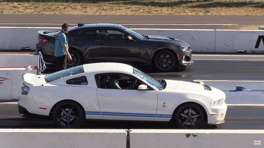 Süperşarj savaşları: Mustang Shelby GT500, Camaro ZL1'e karşı