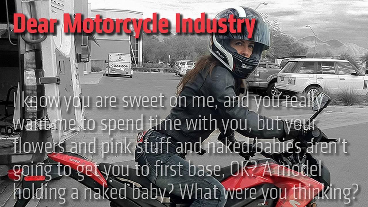 Dear Motorcycle Industry