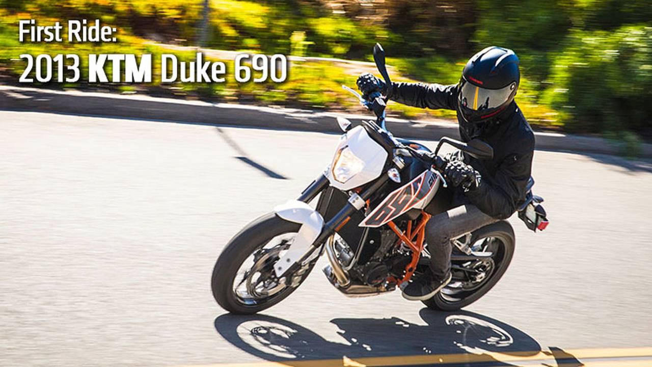 2013 KTM Duke 690 Review