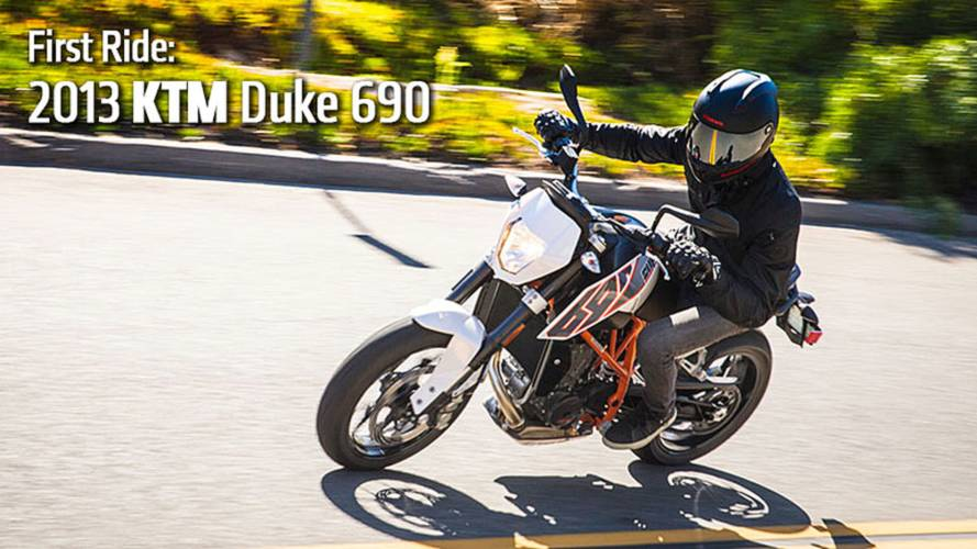 2013 KTM Duke 690 Review