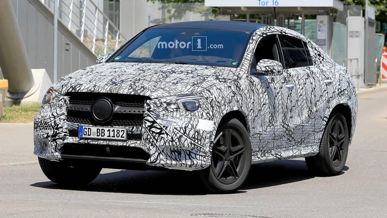 2020 Mercedes GLE Coupe spy photo