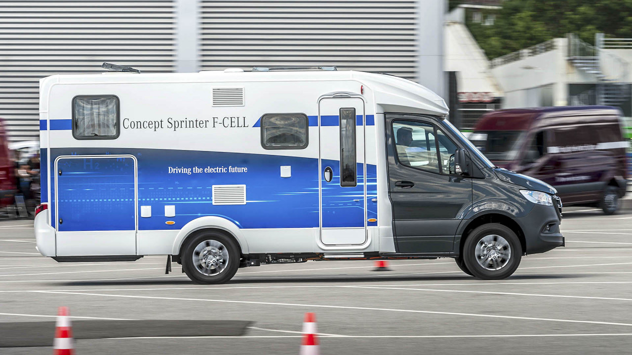 Mercedes camping-car à hydrogène