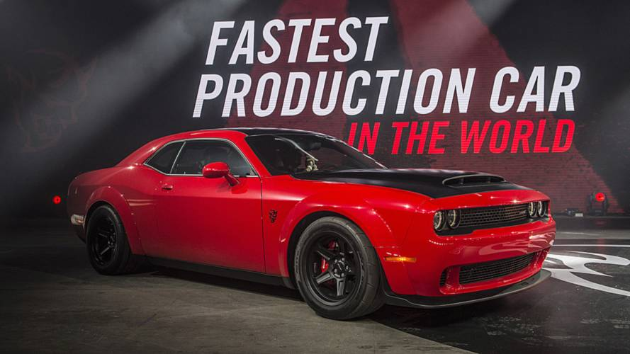 Dodge Demon Disclaimer Admits It's No Match For Tesla Model S