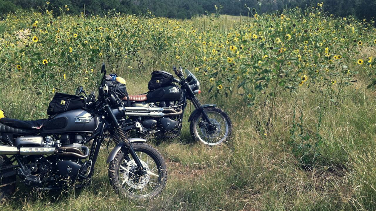 The Off-Road Triumph Scrambler Adventure