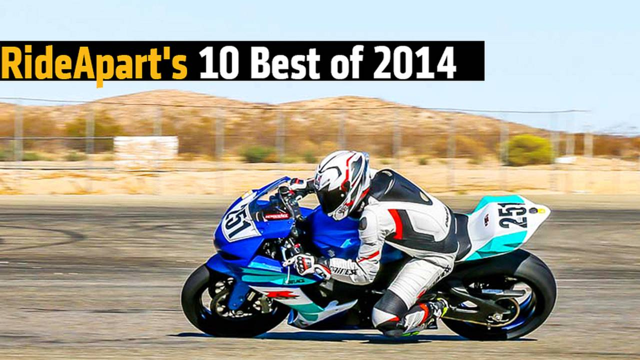 RideApart's 10 Best of 2014