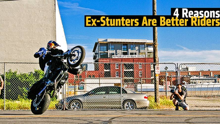 4 Reasons Ex-Stunters Are Better Riders