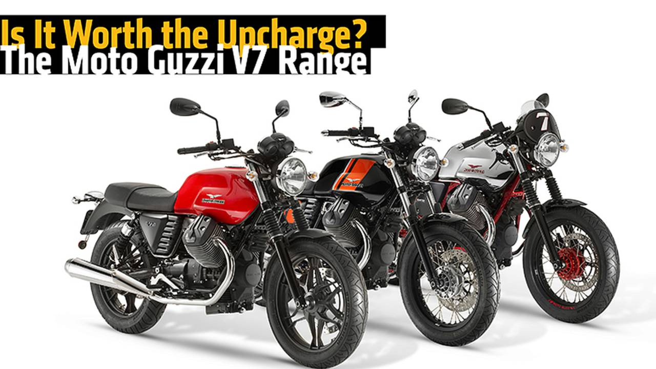 Is It Worth the Upcharge? The Moto Guzzi V7 Range