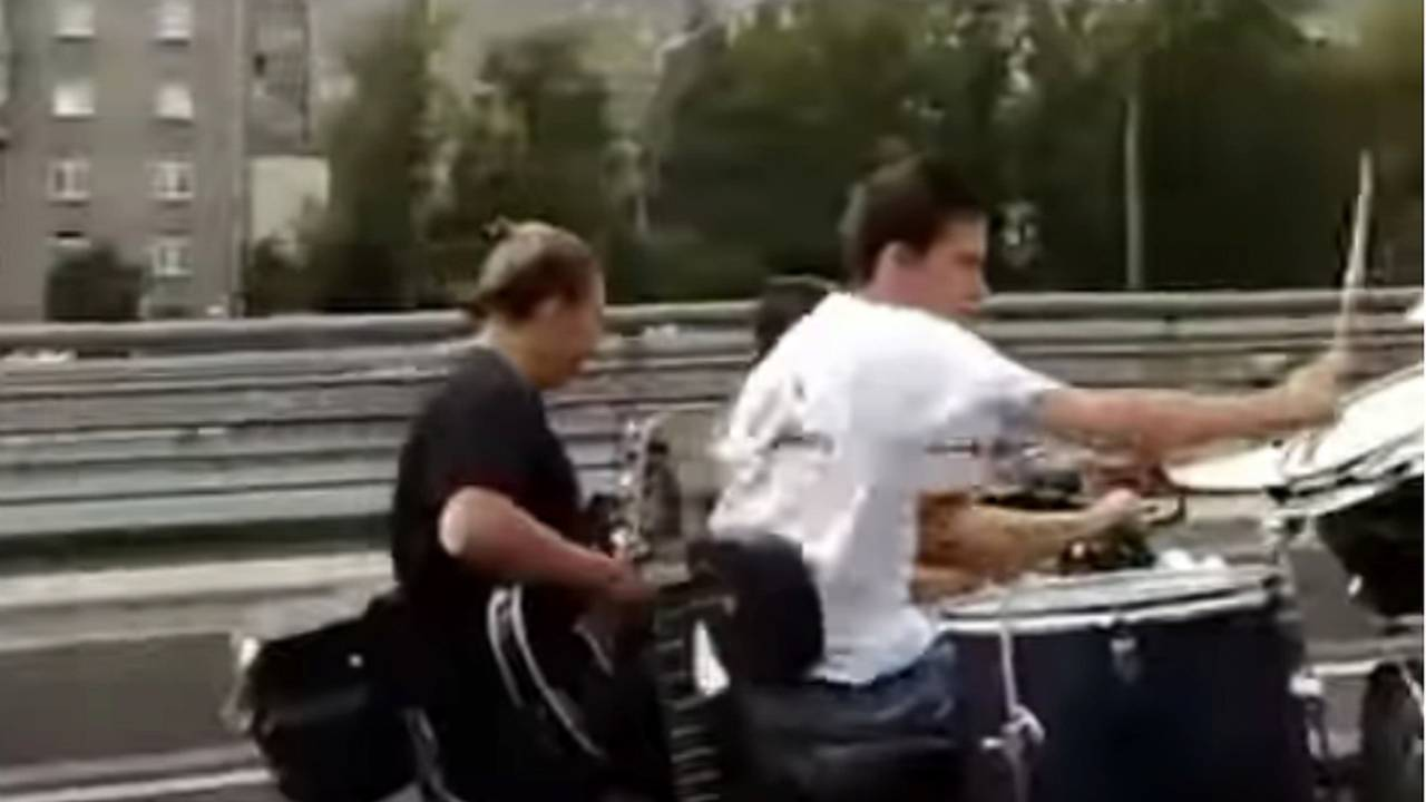 The Traveling Motorcycle Band - Video of the Day