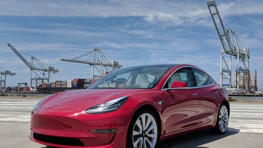 La Tesla Model 3 dans le top 10 des ventes aux États-Unis