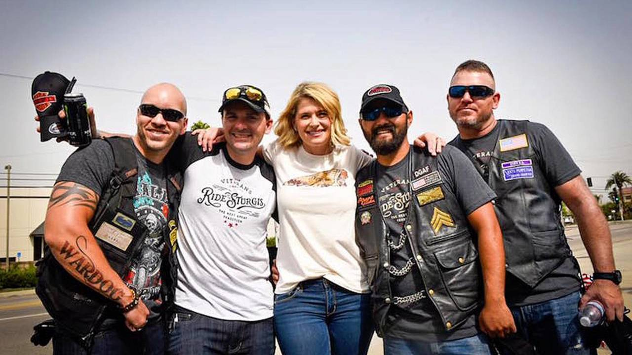 Veterans Charity Ride to Sturgis Under Way