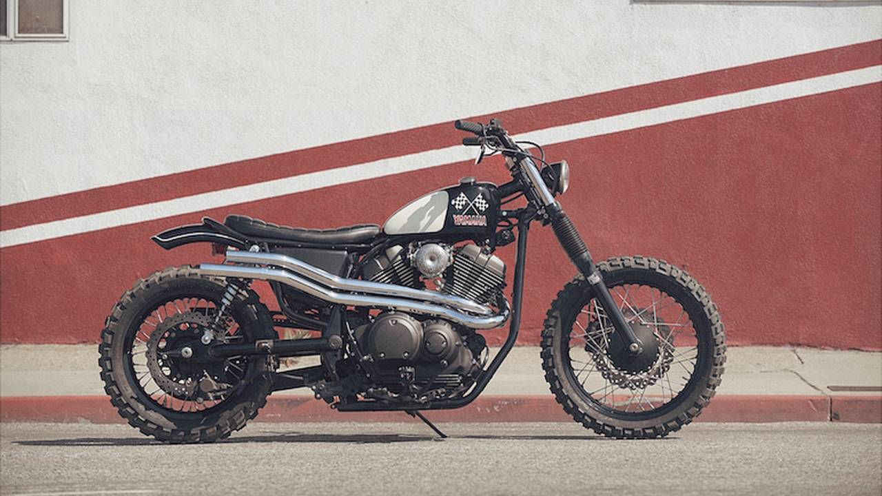 Yamaha Goes Brat Style with SCR950 Build