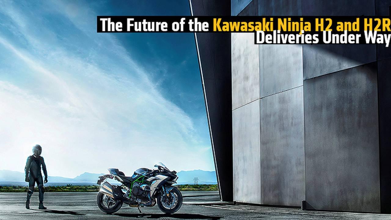 The Future of the Kawasaki Ninja H2 and H2R - Deliveries Under Way