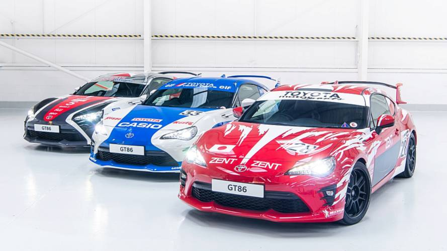 Trois Toyota GT86 uniques pour la 86e Edition du Mans