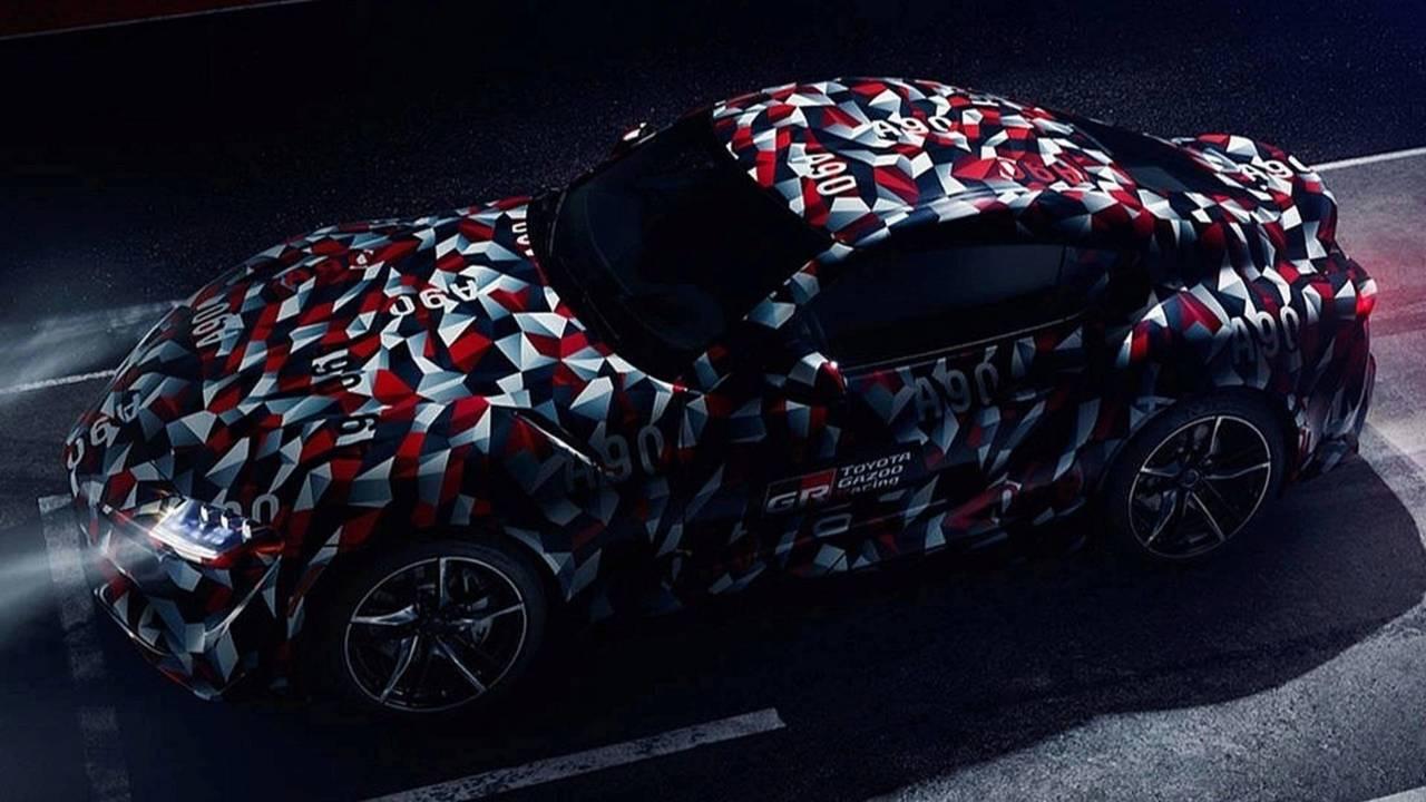 Toyota Supra teaser 2019