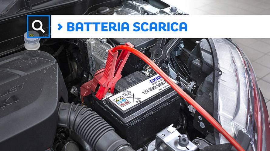Come ricaricare la batteria dell'auto