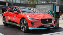 Jaguar I-Pace at Heathrow Airport