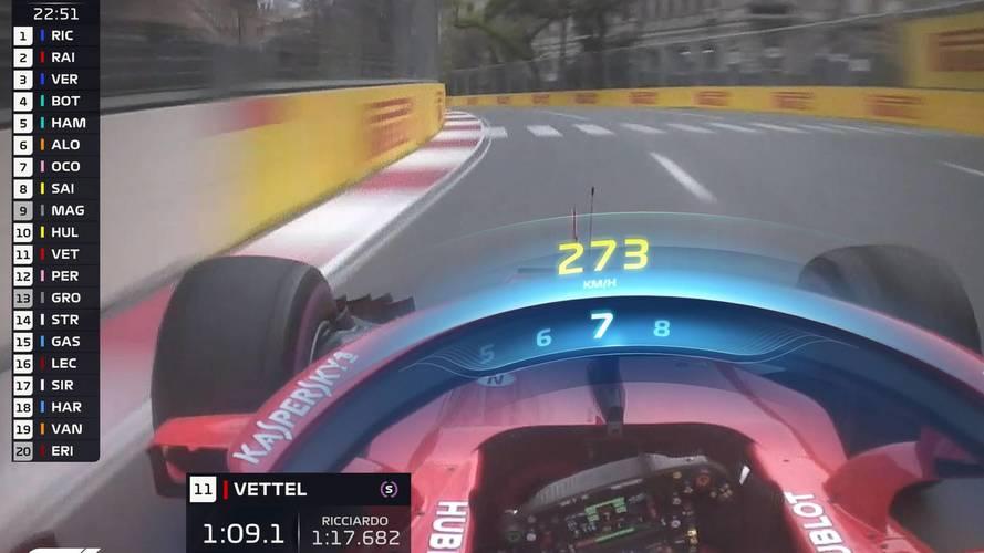 La F1 experimentará con nuevos gráficos de TV