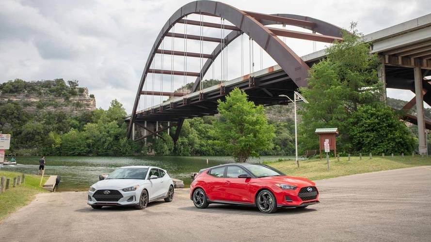 2019 Hyundai Veloster Turbo And 2.0