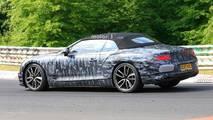 Bentley Continental GTC Spy Shots
