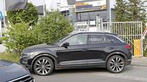 2019 VW T-Roc R spy photo