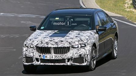 Óriási veséket kap a frissített 7-es BMW