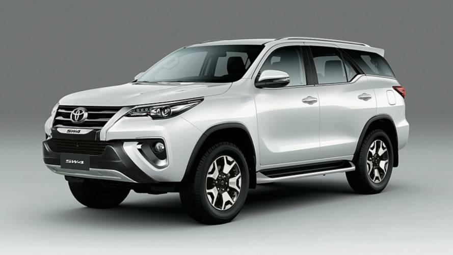 Toyota Hilux e SW4 ficam até R$ 7 mil mais caros e SUV supera os R$ 300 mil