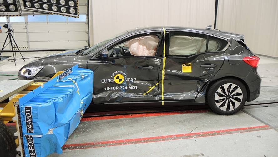 Ford Focus crash test Euro NCAP