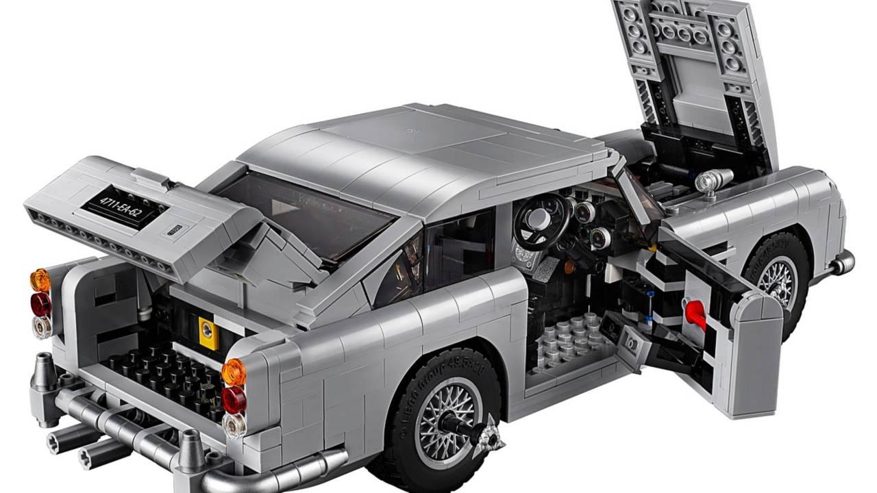 lego james bond aston martin db5 revealed. Black Bedroom Furniture Sets. Home Design Ideas