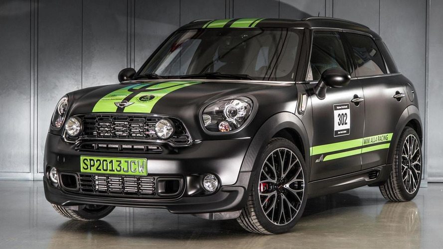2013 MINI John Cooper Works Countryman ALL4 Dakar special edition announced
