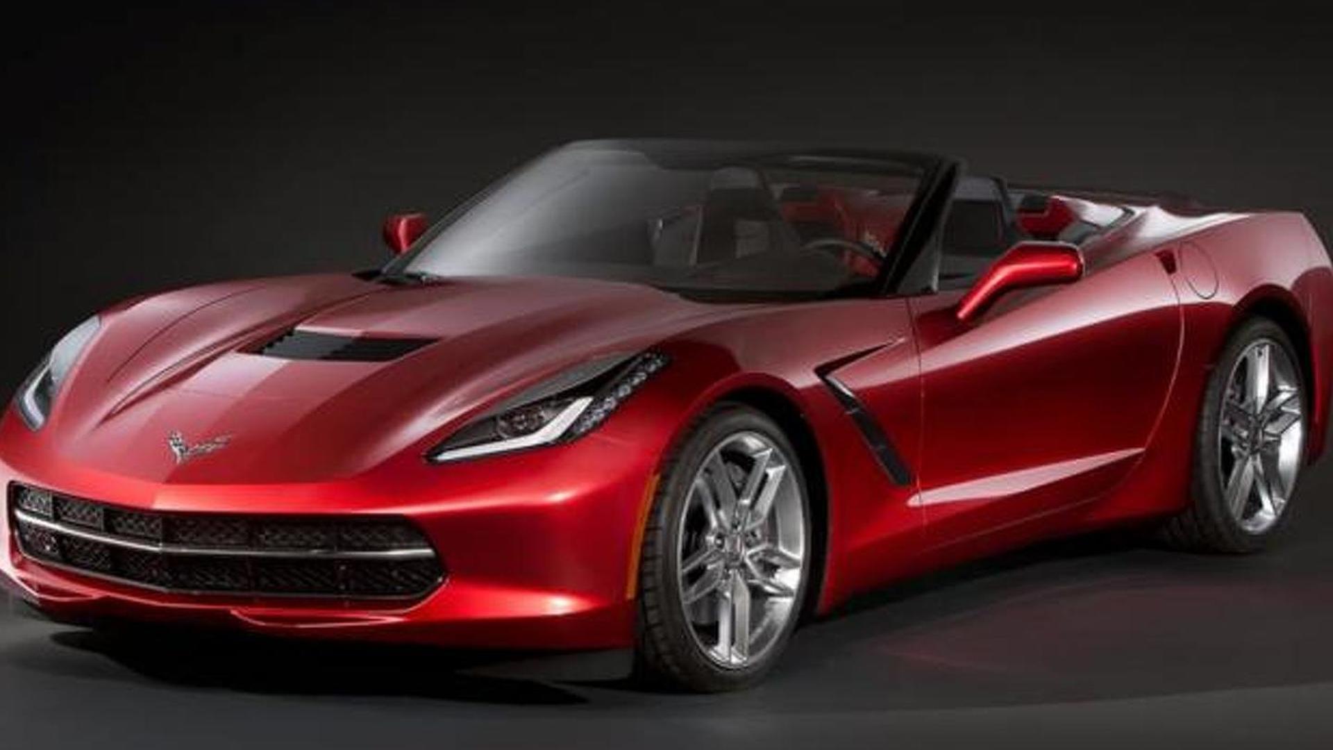 Chevrolet Corvette Stingray Convertible Already Leaked
