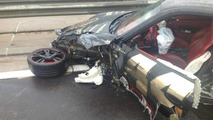 Porsche 997 Turbo crash during Gumball 3000 24.05.2013