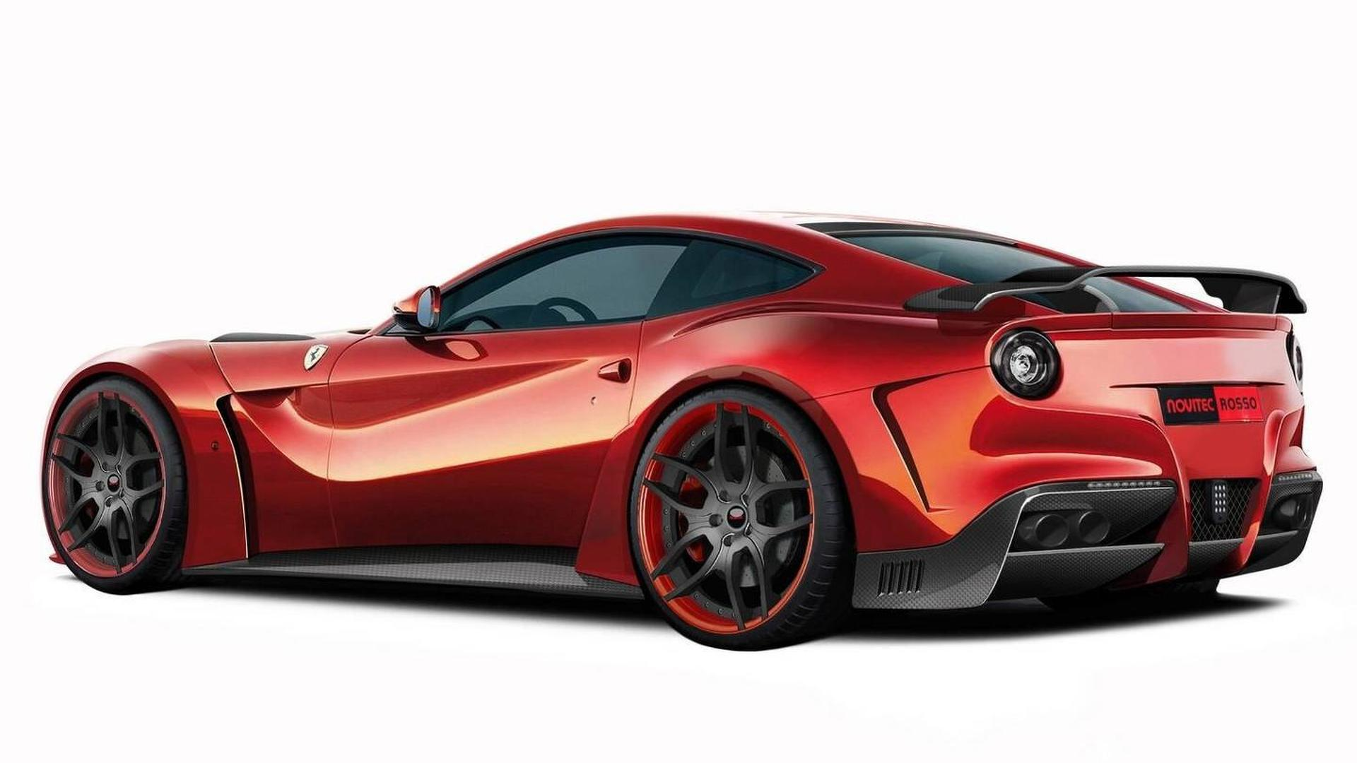 Novitec Rosso F12 N Largo Teased
