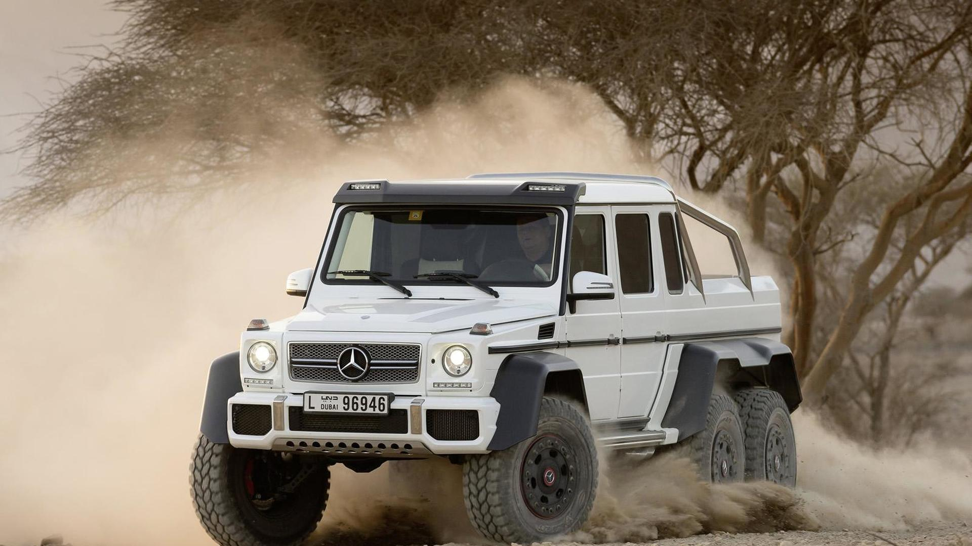 Texas Armoring offers an armored Mercedes G63 AMG 6x6, costs