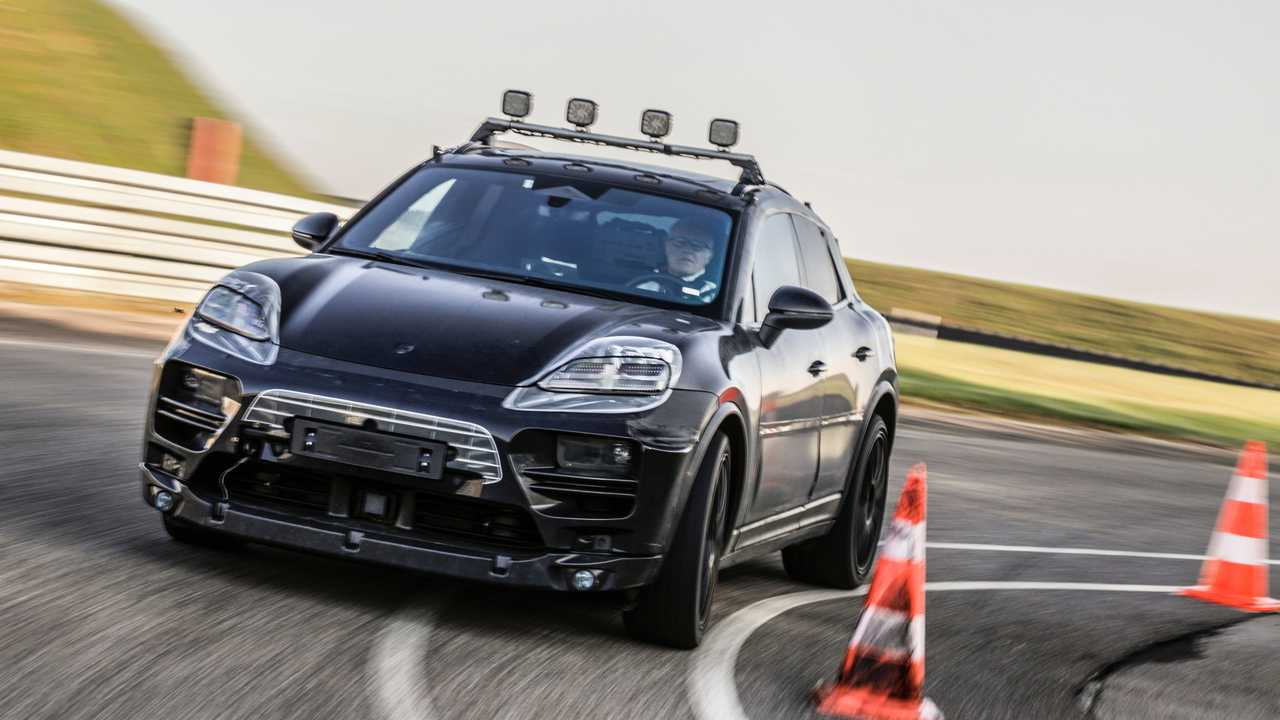 Prototypes électriques Porsche Macan