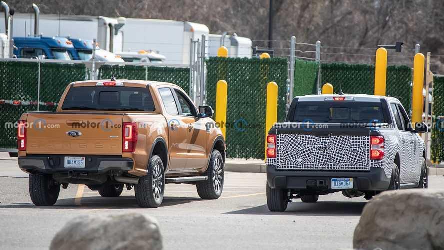 Ford Maverick, Ranger ile Birlikte Görüntülendi