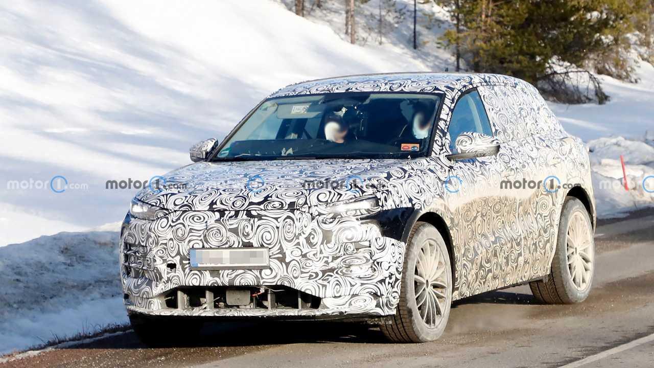2023 Audi Q6 E-Tron spy photo