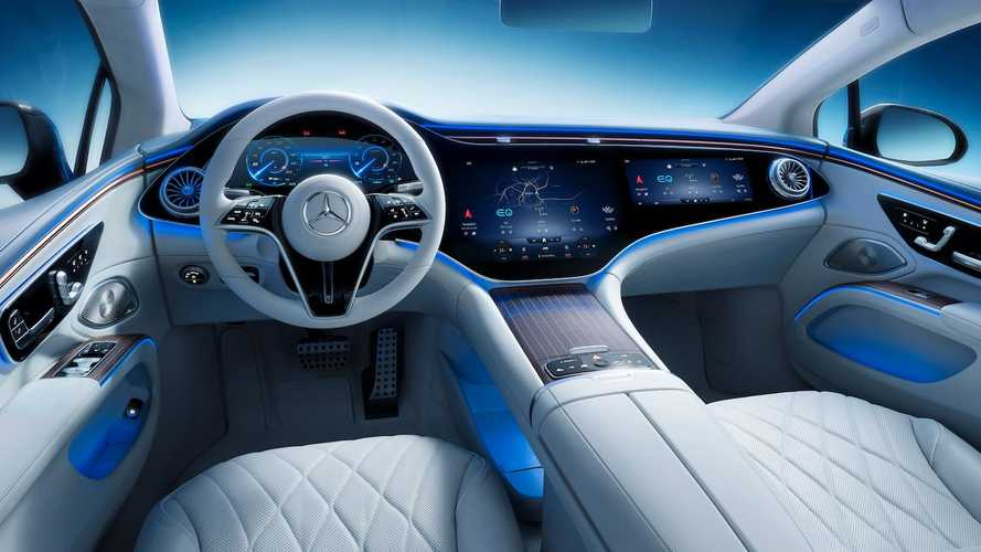 2022 Mercedes EQS Futuristic Interior Fully Revealed In Official Images