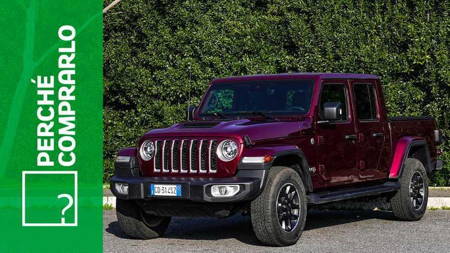 Jeep Gladiator, perché comprarlo... e perché no