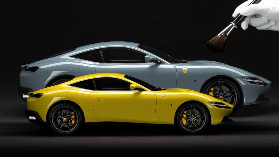 Neue Ferrari-Option bietet Besitzern ihr Modell als Miniatur