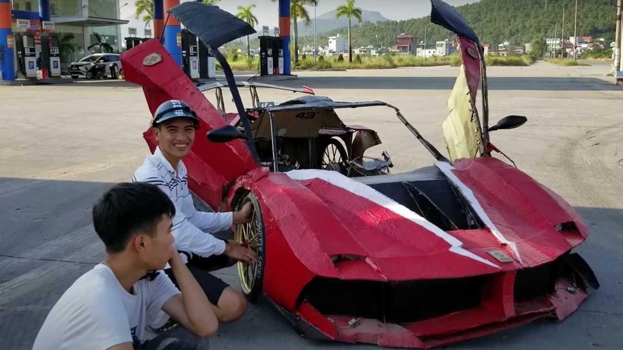Ferrari FXX-K от ютуберов из Вьетнама