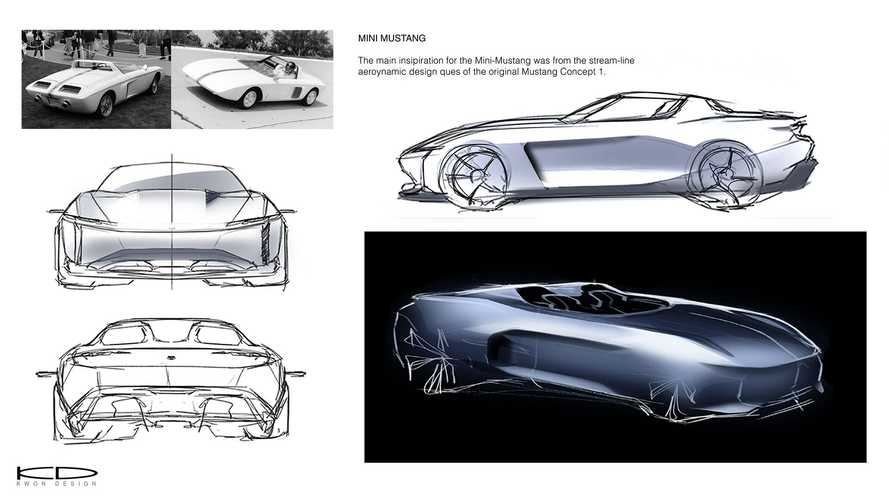 2030 Ford Mustang E1 by Tyler Kwon
