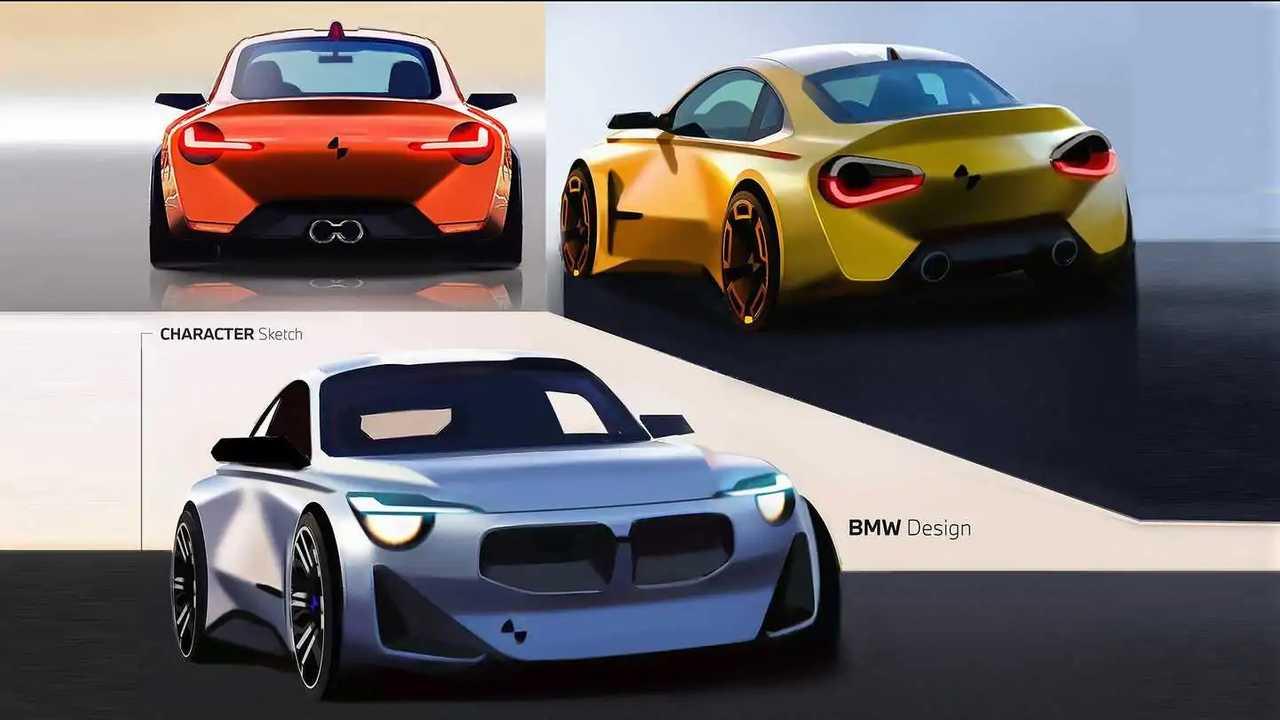 Esquisse BMW Série 2 (2021)
