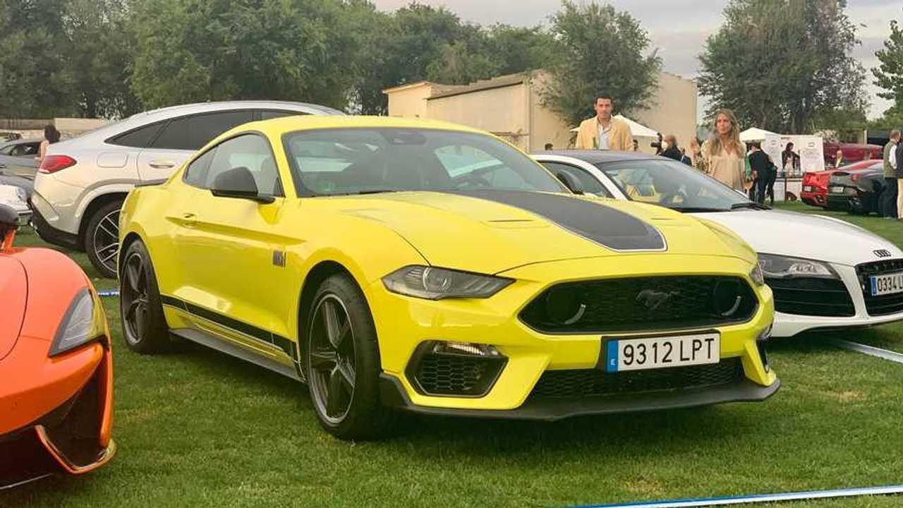Ford Mustang Mach 1 en Autobello 2021